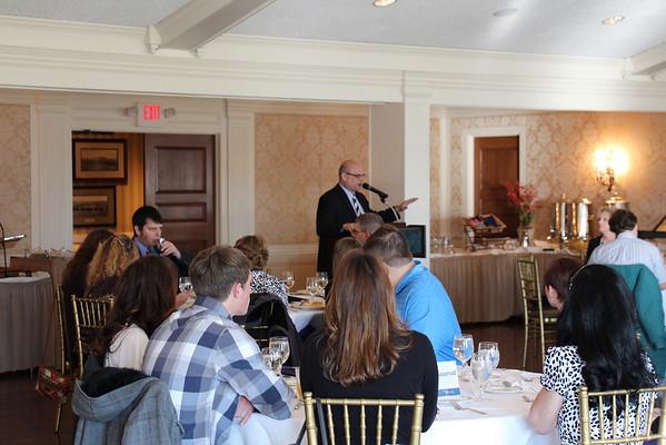 2014 Spring Scholarship Reception