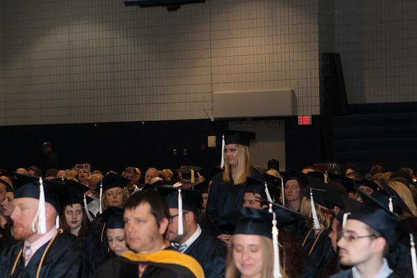 2015 Spring Commencement grads