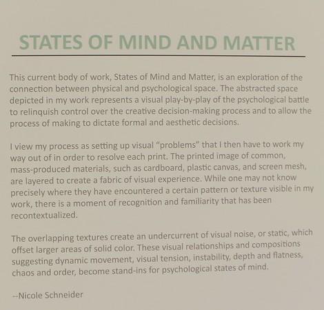 Nicole Schneider gallery exhibit